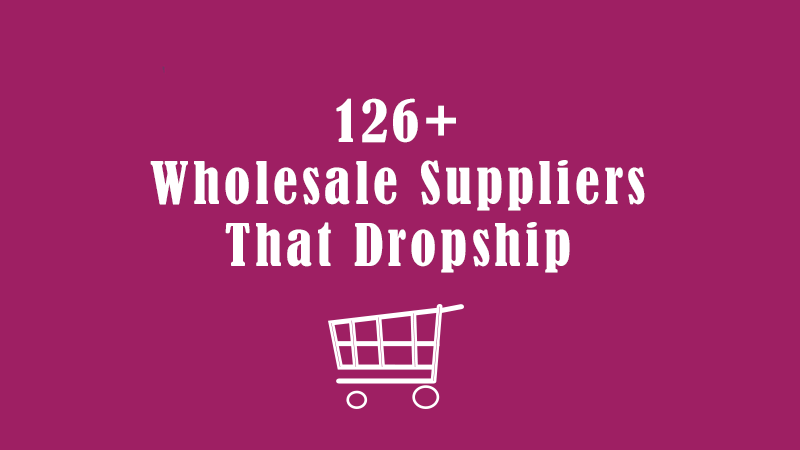 126 suppliers that dropship