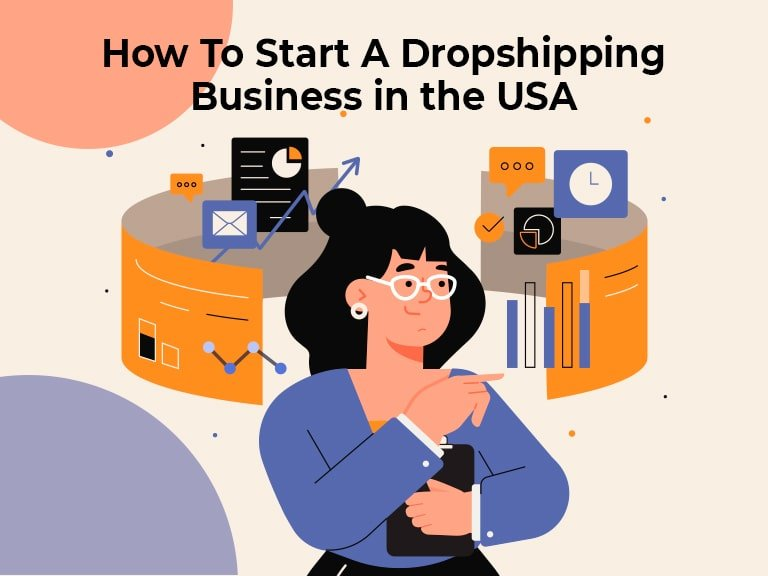 Blog How To Start A Dropshipping Business in the USA min