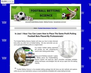 Football Bet Science