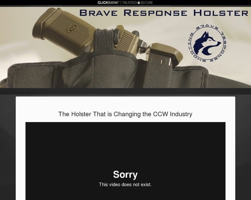 Top Concealed Carry Holster Brave Response