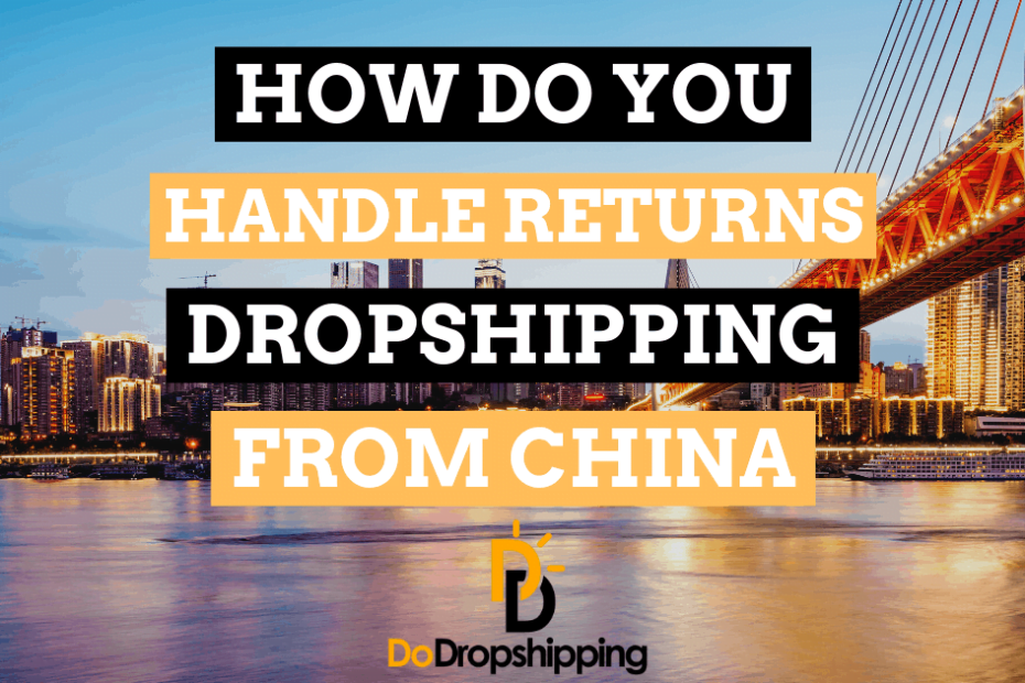 fb dropshipping from china handle returns